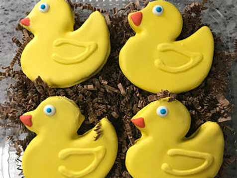 Rubber Ducky Treats - Ducks - 4 Pack Grain Free