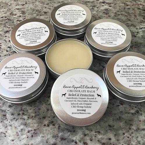 Organic CBD Isolate Crystal Balm  - Relief & Protection - For YOU & your pup