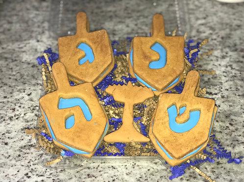 Large 3D Stuffed Hanukkah Treat Box