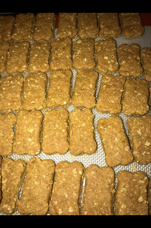 Turmeric & Peanut Butter Treats