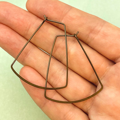 Large Axe Ear Wires - 10 Pieces