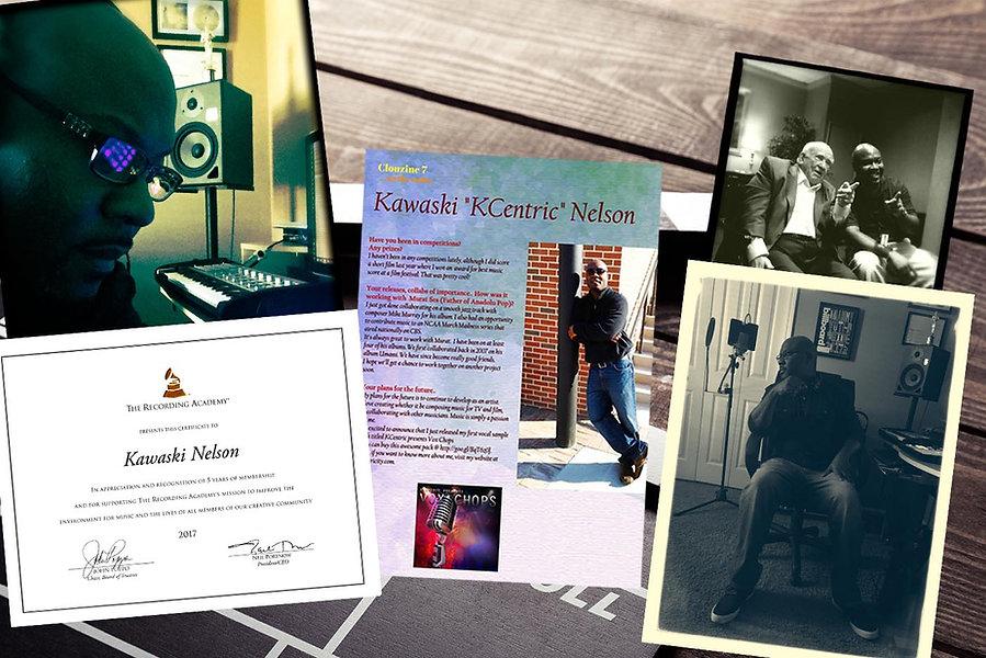 """Kawaski """"KCentric"""" Nelson"""