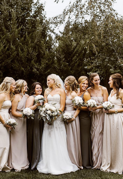 Do Your Bridesmaids Dresses Have to Match?