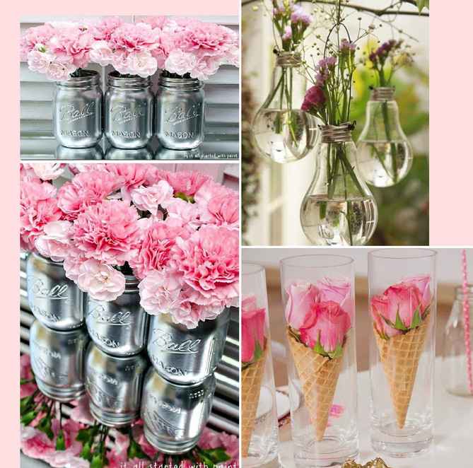 Creative Pink Party Décor