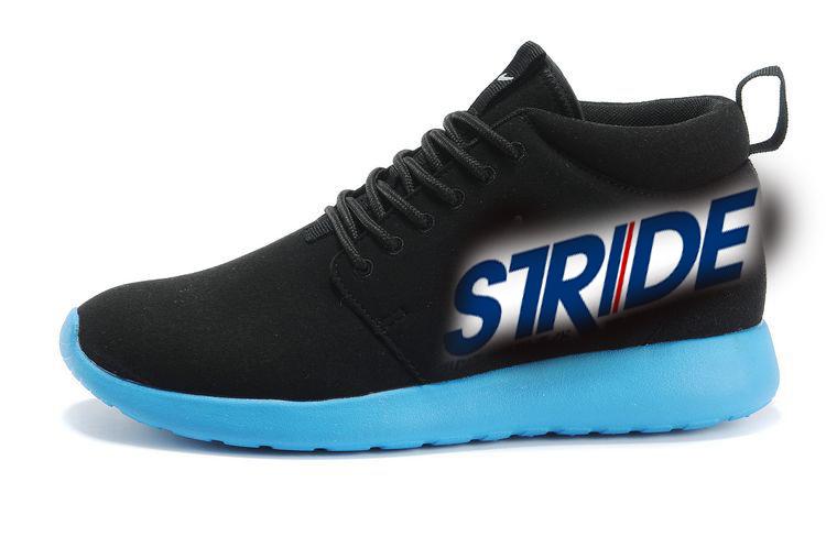 the best attitude d79dc b422a Nike-Roshe-Run-Mid-Suede-Men-Black-SkyLRG