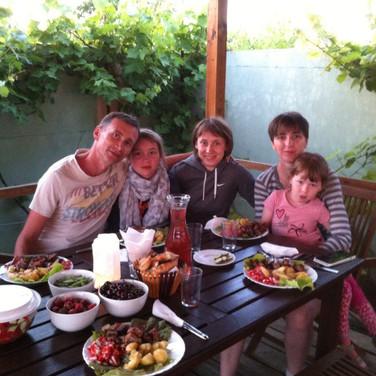 семья Константина
