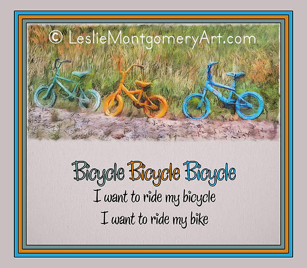 'Tri Bike Bicycle Races' by Leslie Montgomery