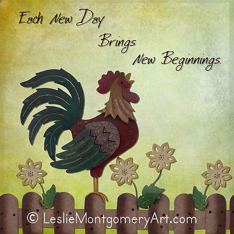 'New Beginnings' by Leslie Montgomery