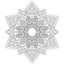 005 Mandala Coloring Page