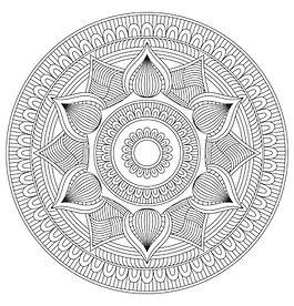 002 Mandala Coloring Page