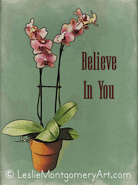 'Orchid - Believe In You' by Leslie Montgomery