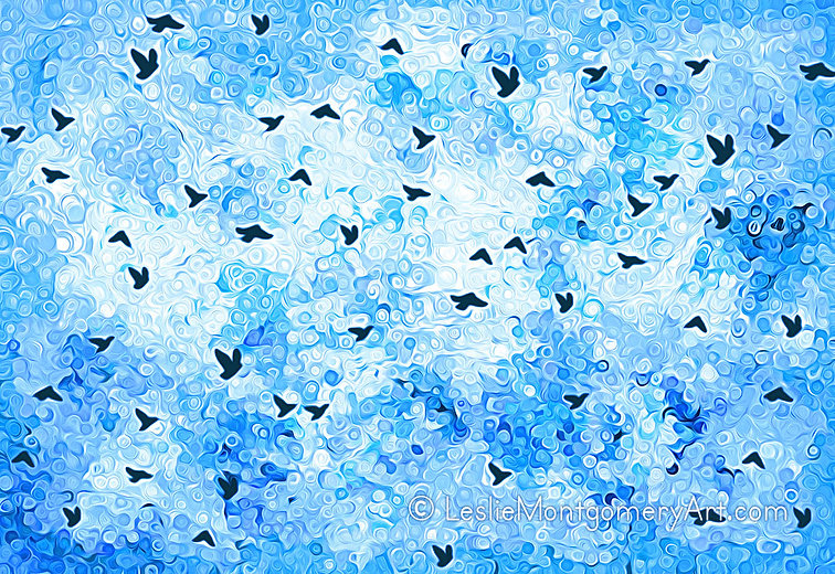 'Wings Of Freedom' by Leslie Montgomery