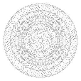 006 Mandala Coloring Page