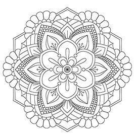 003 Mandala Coloring Page