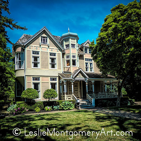 Old Victorian home in Niagara On The Lake Ontario