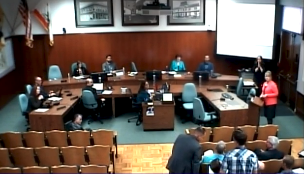 April 3, 2018 City of San Luis Obispo Council Meeting Screenshot