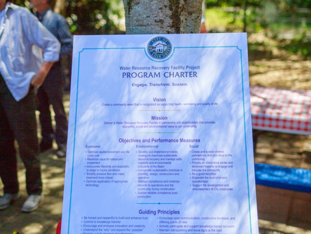 WRRF Project Program Charter Signing