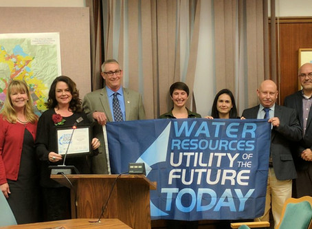 "The City is Recognized as an ""Utility of the Future-Today"""