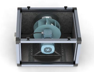 Вентилятор шумоизолированный ШСвК
