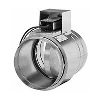 Клапан воздушный для круглых воздуховодов - КВК