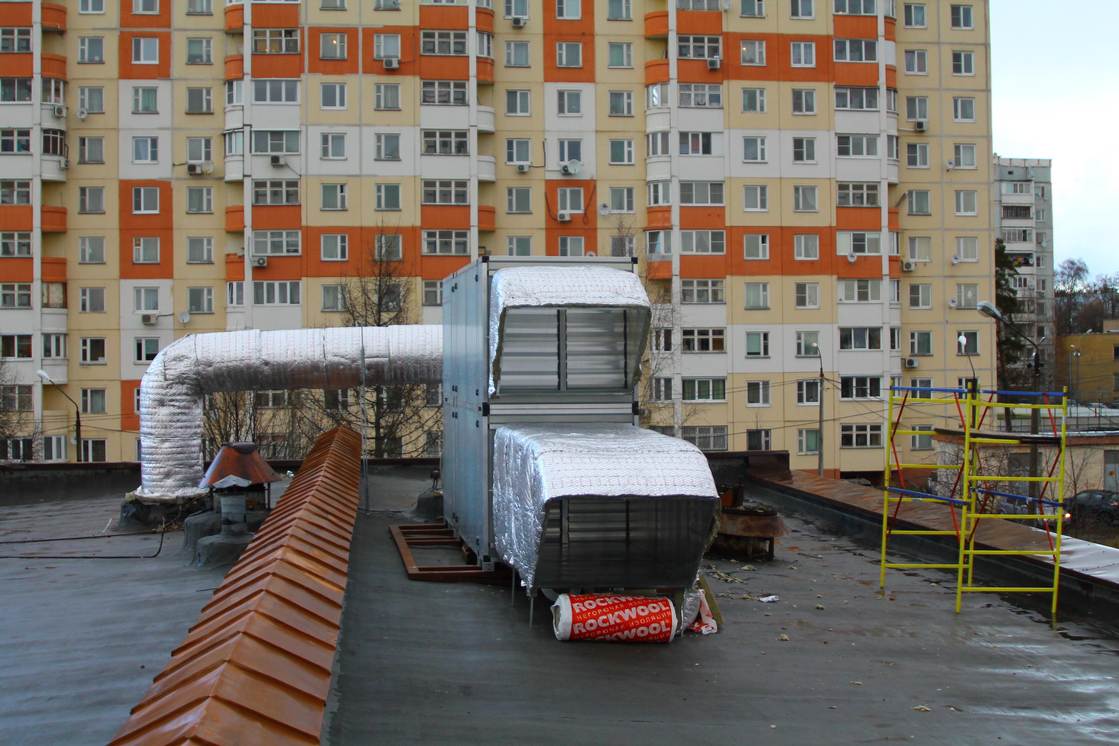 Приточно-вытяжная установка AURORA