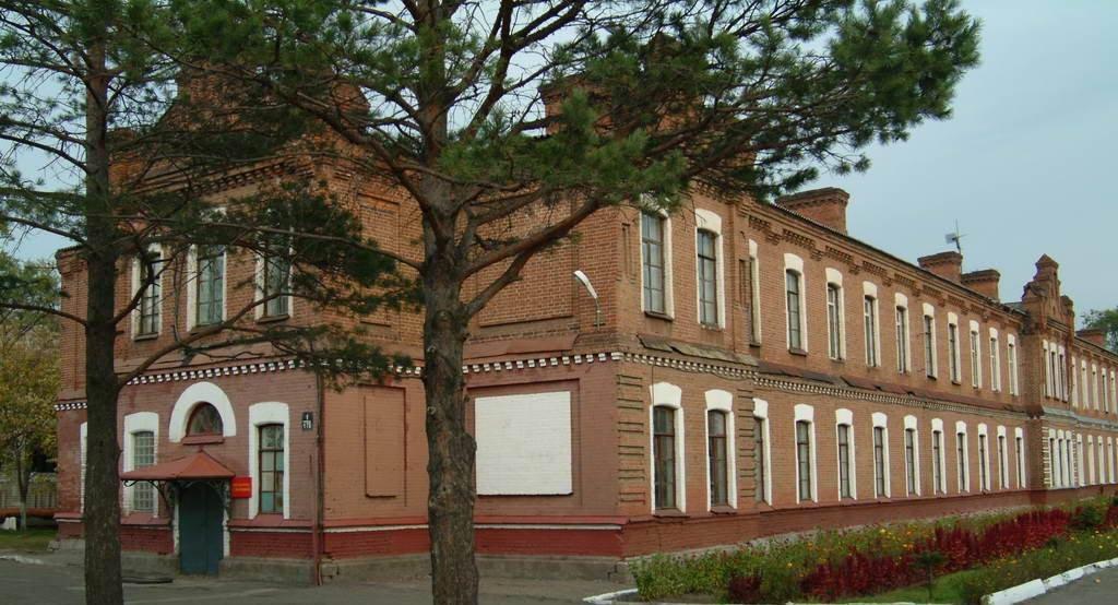 Суворовское училище, г. Уссурийск