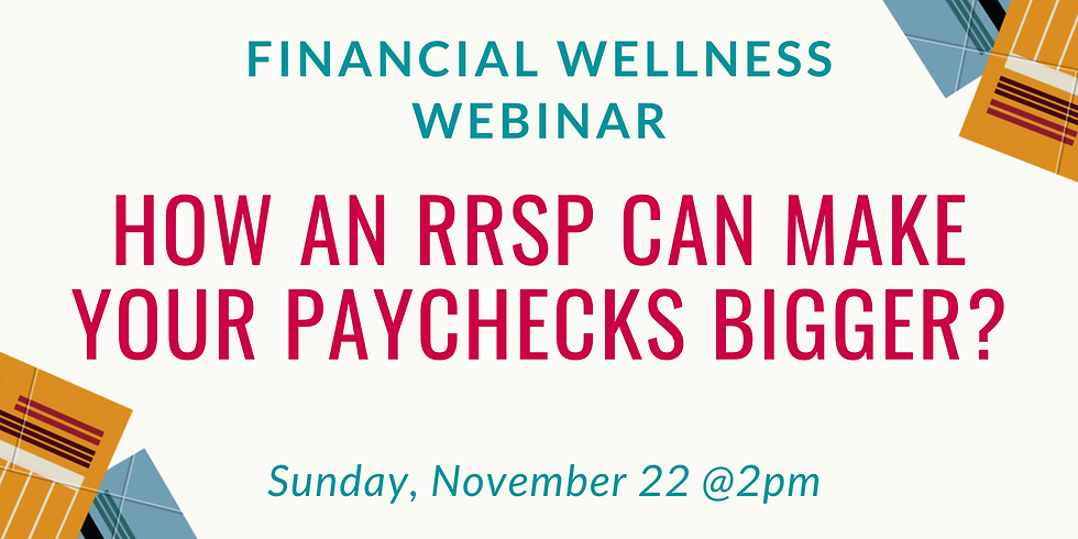 How an RRSP can make your paychecks bigger?