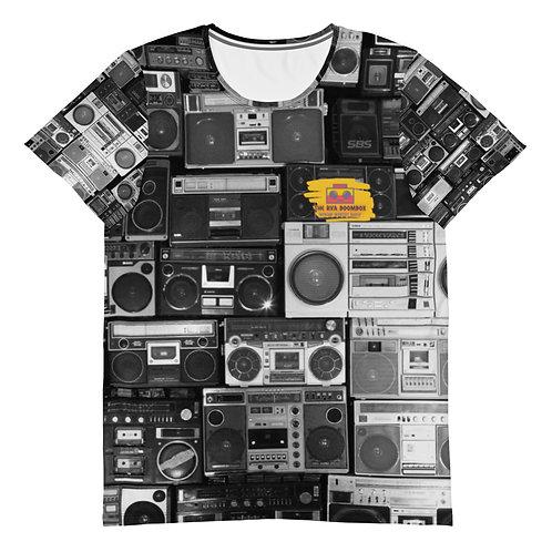 "The RVA Boombox ""Retro Boxes"" Men's Athletic T-shirt"