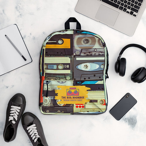 "The RVA Boombox ""Mixtape"" Backpack"