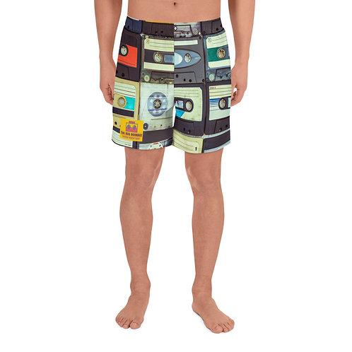 "The RVA Boombox ""Mixtape"" Men's Athletic Long Shorts"