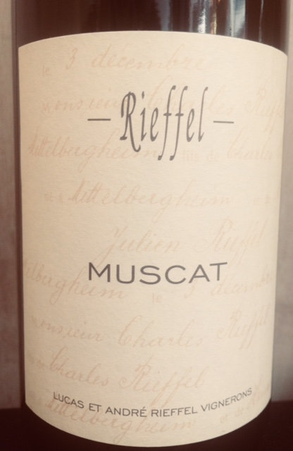 Muscat, Domaine Rieffel
