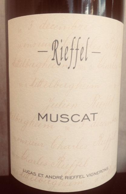 Muscat, Domaine Rieffel