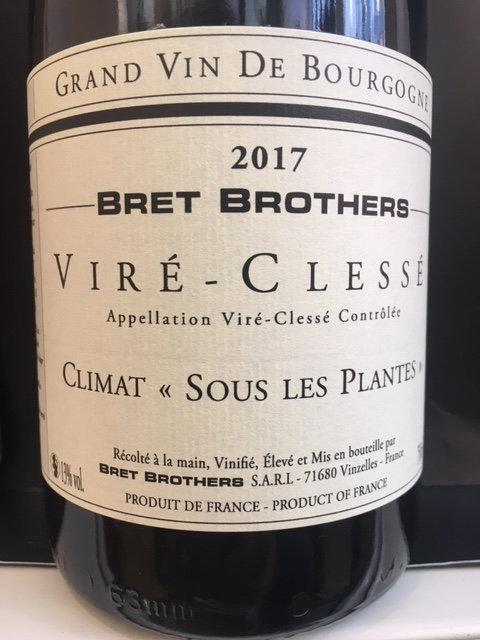 Viré-Clessé, Les Bret Brothers