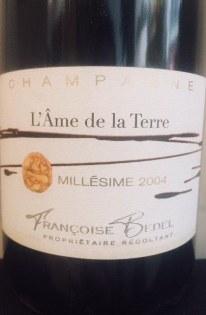 Champagne L'Ame de la Terre, Françoise Bedel