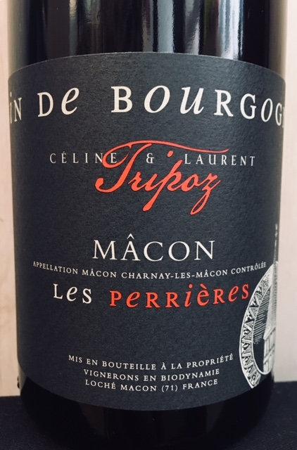 Domaine Tripoz Macon Les Perrières