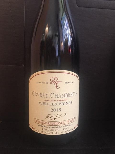 Domaine Rossignol Trapet Gevrey Chambertin Vieilles Vignes