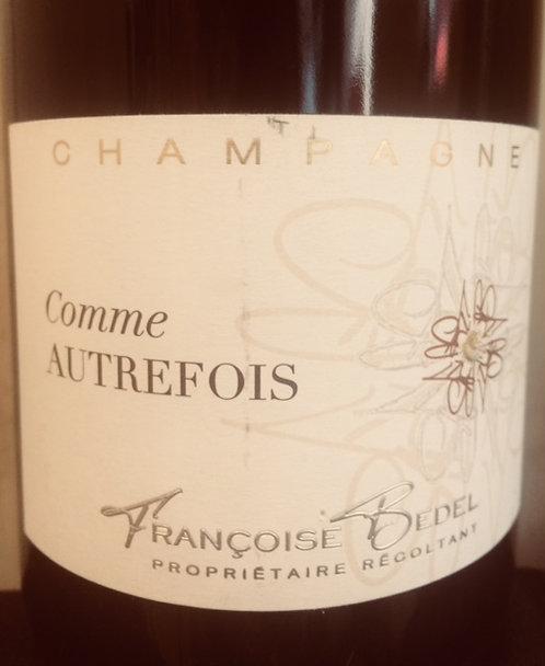 Champagne Comme Autrefois, Françoise Bedel