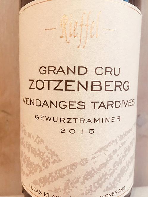 Gewurtztraminer Grand Cru Zotzenberg, Vendange Tardive, Domaine Rieffel