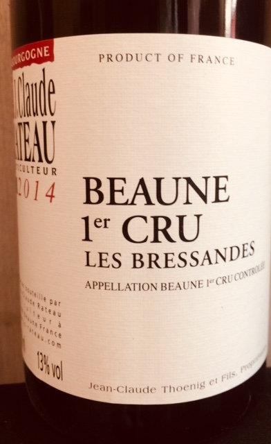 Beaune 1er cru Les Bressandes, Domaine Rateau