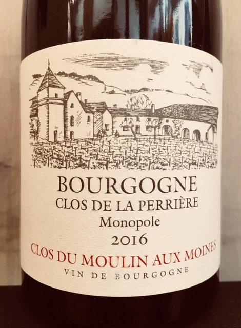 Bourgogne Clos de la Perrière, Clos du Moulin aux Moines