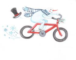 Walden's Red Bike