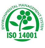 the iso 14001 management system logo