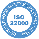 the iso 22000 official logo