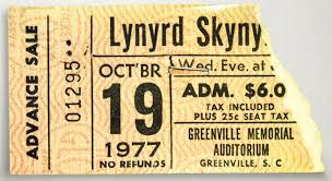 October 19, 1977 Concert