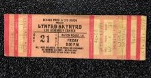 October 21, 1977 Ticket