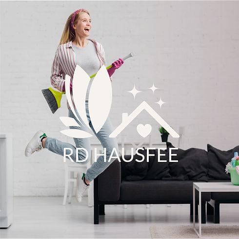 Logo Design Hausfee Reinigung Betreuung