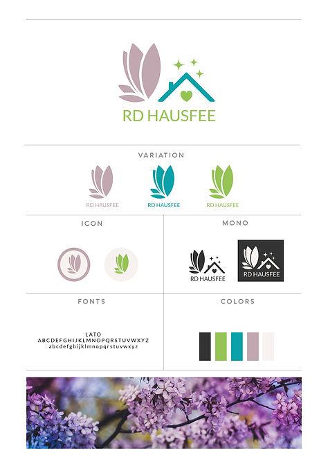 Logo Design Hausfee Reinigung Hausbetreuung Personenbetreuung
