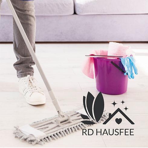 Logo Design Hausfee dunkel Reinigung Personenbetreuung Hausbetreuung