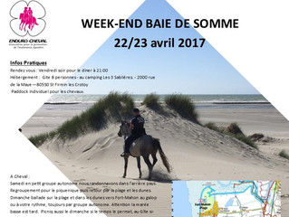 Weekend Baie de Somme 22/23 avril 2017