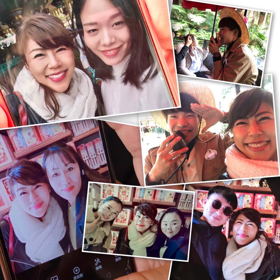 中国の皆さまと記念撮影